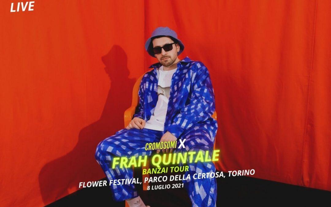 Frah Quintale al Flowers Festival: Torino è la sua pista da ballo