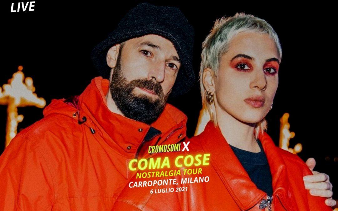 Coma_Cose a Milano: il racconto di Cromosomi
