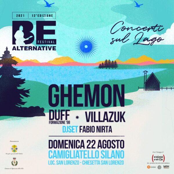 Nuova tappa di Be Alternative Festival: concerto sul lago a Camigliatello Silano